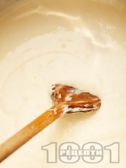 Класически бял сос Бешамел с прясно мляко (за мусака, макарони, лазаня, картофи) - снимка на рецептата